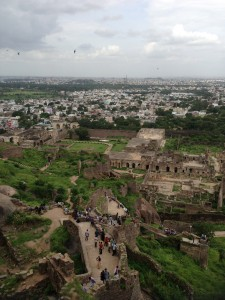 Golconda from top
