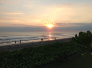 Bali - Sunset on Beach